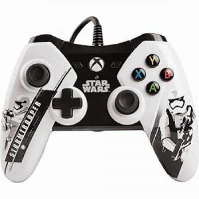 Power A - Star Wars: The Force Awakens Bb-8 Wired Controller For Xbox One - Orange/gray/black/white