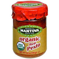 Mantova Organic Red Pesto 4.6 Oz (Pack of 12)