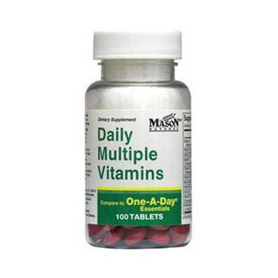 Daily Multiple Vitamins, 100 Tablets, Mason Natural