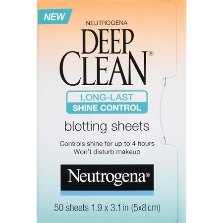 Neutrogena Deep Clean Shine Control Blotting Sheets