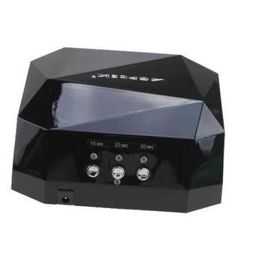 Image 36W CCFL Led Nail Dryer Diamond Shaped Curing UV Machine For UV Gel Nail Art Lamp