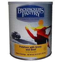 Backpackers Pantry Backpacker's Pantry Potatoes, Gravy & Beef, Can
