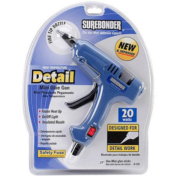 Surebonder 20 Watts High Temperature Detail Mini Glue Gun (H-195)