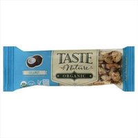 Taste Of Nature 1.4 oz. Coconut Organic Wholesome Snack Bar - Case Of 12