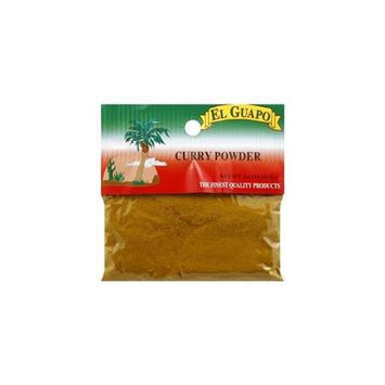 El Guapo Curry Powder 1.50 Oz, Pack of 12