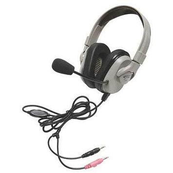 Califone Titanium HPK-1030 Headphones with Boom Microphone