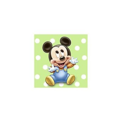 Mickey Mouse 1st Birthday Beverage Napkins (16-pack)