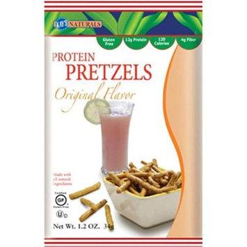Kays Naturals High Protein Pretzel Sticks - Orange - Case of 6 - 1.2 oz
