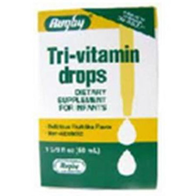 Watson Rugby Labs Tri-vitamins Drops, Dietary Supplement for Infants, 50 ml, Watson Rugby