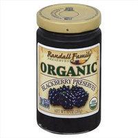 Randall Family Preserves 10 oz. Organic Blackberry Preserves Case Of 6