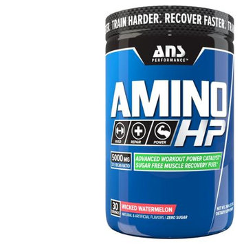 ANS Performance Amino HP Advanced BCAA, Caffeine Free Wicked Watermelon, 360g