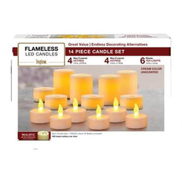 Northern International CG201402 Variety Flameless Candle Set 14 Pieces