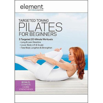 Tcfhe/anchor Bay/starz Element: Targeted Toning Pilates for Beginners (Widescreen) (DVD)