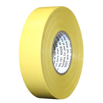 INTERTAPE 60' Yellow All Weather Colored Electrical Marking Tape