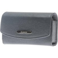 Canon PSC-2050 Deluxe Digital Camera Case - Leather - Gray