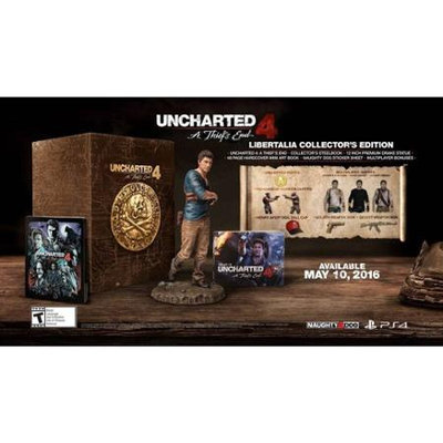 Uncharted 4: A Thief's End Libertalia Collector's Edition (Playstation 4)