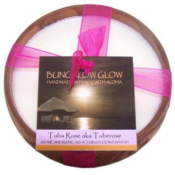 Bubble Shack Hawaii 492773500908 Tuba Rose Poi Bowl Candles - Pack of 2