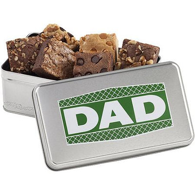 Mrs. Fields Exclusive Father's Day Brownie Tin, 6 pc