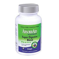 Absorbaid - Platinum Super Digestive Blend - 120 Vegetarian Capsules