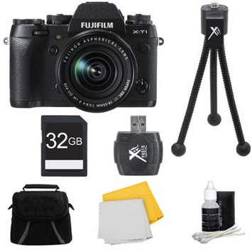 Fujifilm X-T1 16.3MP Full HD 1080p Video Mirrorless Digital Camera 18-55mm Lens 32GB Kit