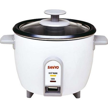 SANYO EC503 RICE COOKER 3CUP VEGETABLE STEAMER