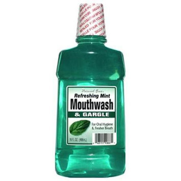 Personal Care 90887-1 Refreshing Mint Mouthwash & Gargle - 16 oz. Pack of 12