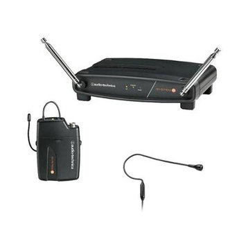 Audio-Technica ATW-801/H92 System 8 VHF Headset Microphone System - Black