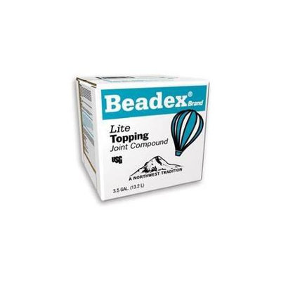 BEADEX Brand Lite 3.5-Gallon Premixed Finishing Drywall Joint Compound 385262