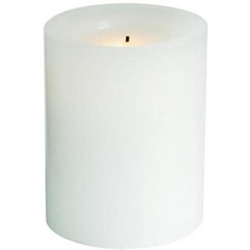 Northern CGT54400WH01 4 Inch White Battery Operated Round Candle