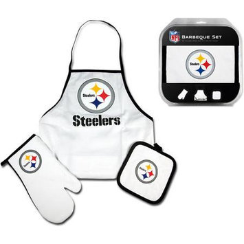 Mcarthur Sports McArthur Pittsburgh Steelers Tailgate Apron, Mitt & Pot Holder Combo Set