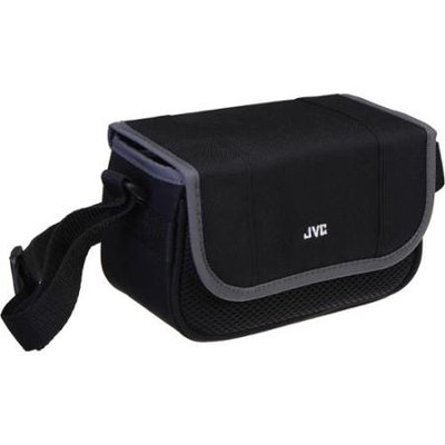 JVC Carrying Case for Camcorder / Small Camera, Black/Gray