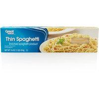 Great Value: Thin Spaghetti, 16 oz