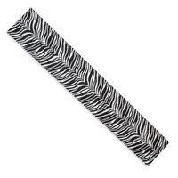 Chooty & Co. Chooty & Co Zebra 18 x 54 in. Hemmed Plush Runner