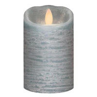 Inglow Flameless Wax 5in LED Candle - Quarry Blue, Blue