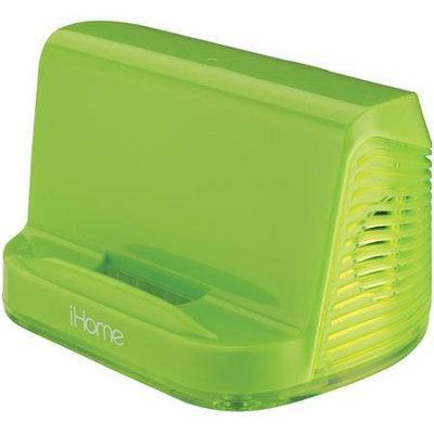 Sdi Techonlogies Inc. iHome iHM16 Speaker System - Neon Green - iPod Supported