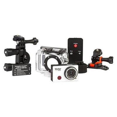 Vivitar DVR794 5MP Action Camera - Silver.