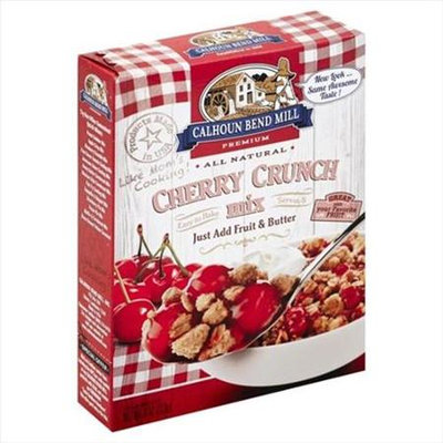 Calhoun Bend 8 oz. All Natural Cherry Crunch Mix - Case Of 6