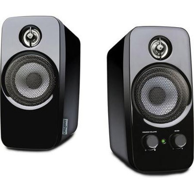 Creative Labs Inspire T10 2.0 Multimedia Speaker System w/BasXPort Technology