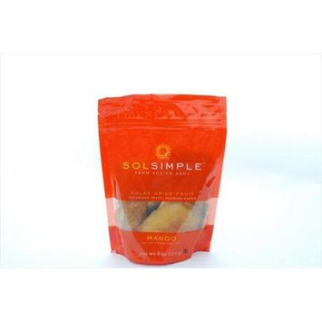 Sol Simple Llc 1.5 Ounce Og1 Dried Fruit Mango
