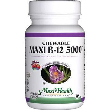 Maxi Health Kosher Vitamins 1510924 Maxi B12 5000 Chewable 60 Tablets