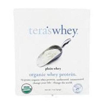 Teras Whey Tera's Whey - Grass Fed Organic Whey Protein Packet Plain Whey - 1 oz.