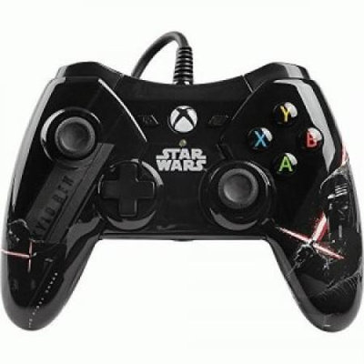 Power A - Star Wars: The Force Awakens Kylo Ren Wired Controller For Xbox One - Black/white/red