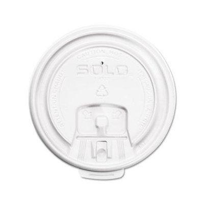 SOLO Cup Company LB3081 Hot Cup Lids- White- 1000/Carton