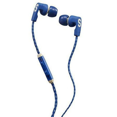 Skullcandy Strum Earbuds with Mic Ill Famed/Royal/Cream, One Size