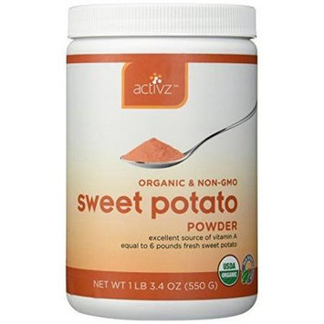 Activz - Organic Sweet Potato Powder - 19.4 oz.