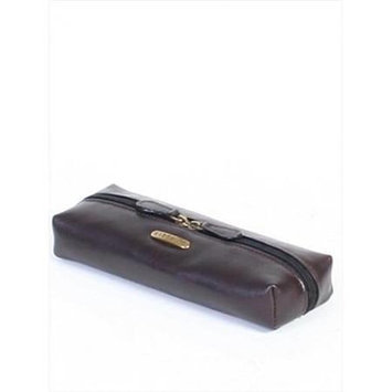 Scully H637-04-25 Hidesign By Scully Female Chocolate Cosmetic Case