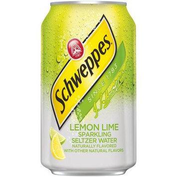 Schweppes Lemon Lime Seltzer Water