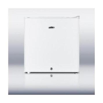Summit Appliance 1.8 cu. ft. Mini Refrigerator in White with Lock FFAR21L