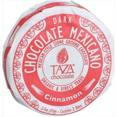 Taza Chocolate Organic Chocolate Mexicano Disc Cinnamon 2.7 oz