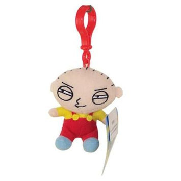 Commonwealth Toy Family Guy Plush Back Pack Clip On Stewie